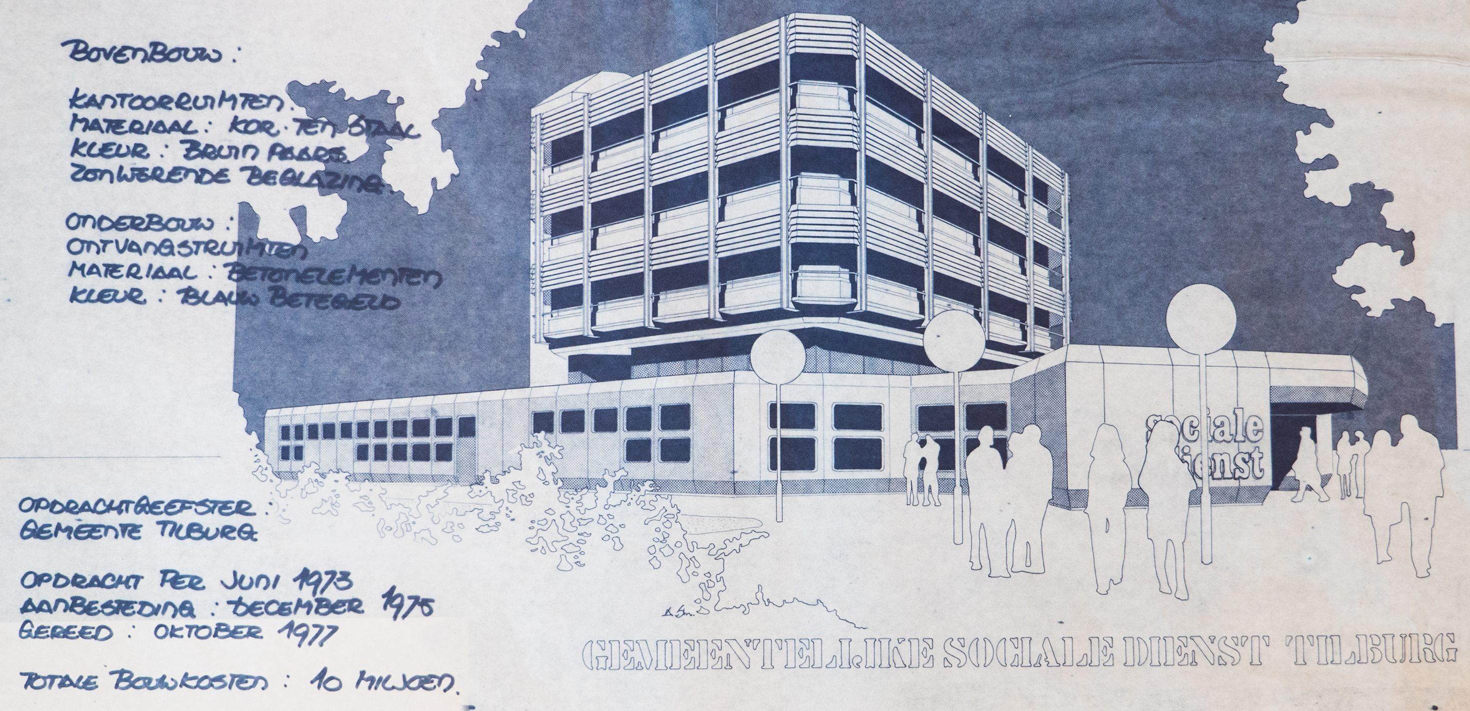 Coverblad oorspronkelijke bouwplan